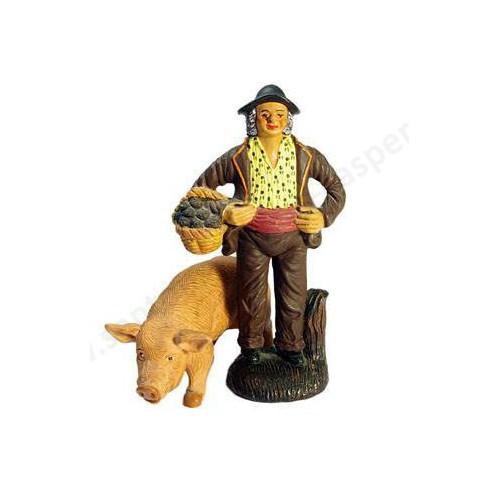 Truffier et son cochon