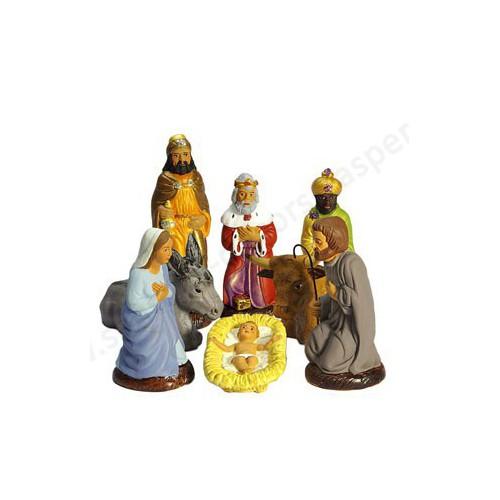 Set de 8 pièces nativité